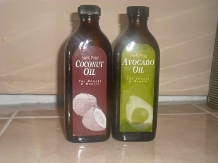 Coconut oil and Avacado Oil
