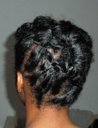 Curlformed Natural Hair Updo_2