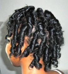 Curls Side View