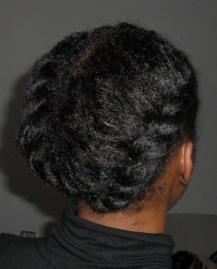 natural hair Twin jumbo Twists_2