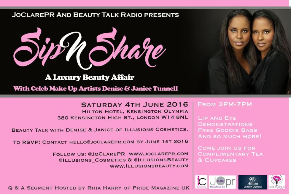 Sip N Share A Luxury Beauty Affair