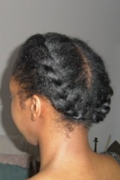 Shea Moisture Smooth & Repair Blow Out Cream_jumbo twists left side 2